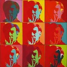 Andy Warhol self portrait High Museum of Art